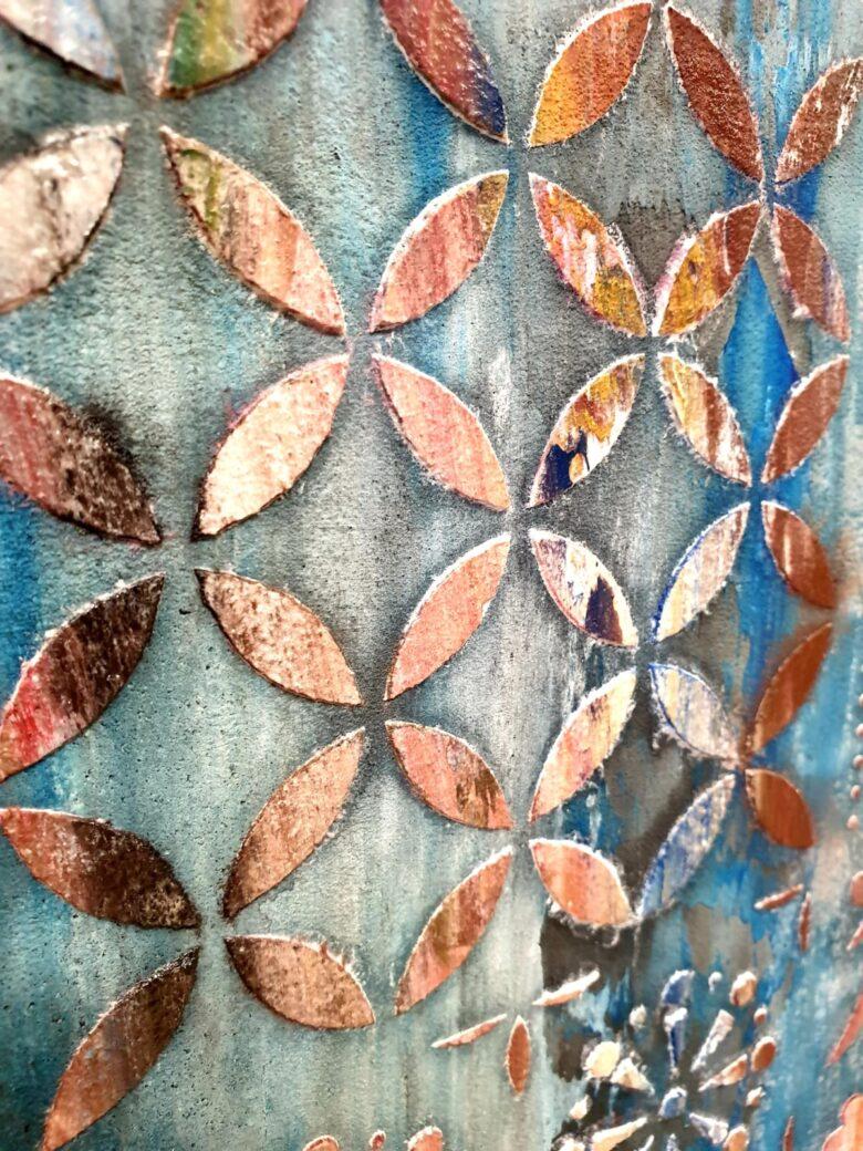 pintura alta decoración
